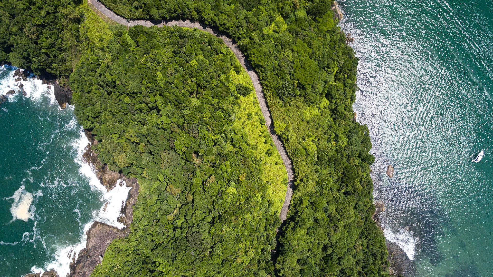 Aerial View, Estradas