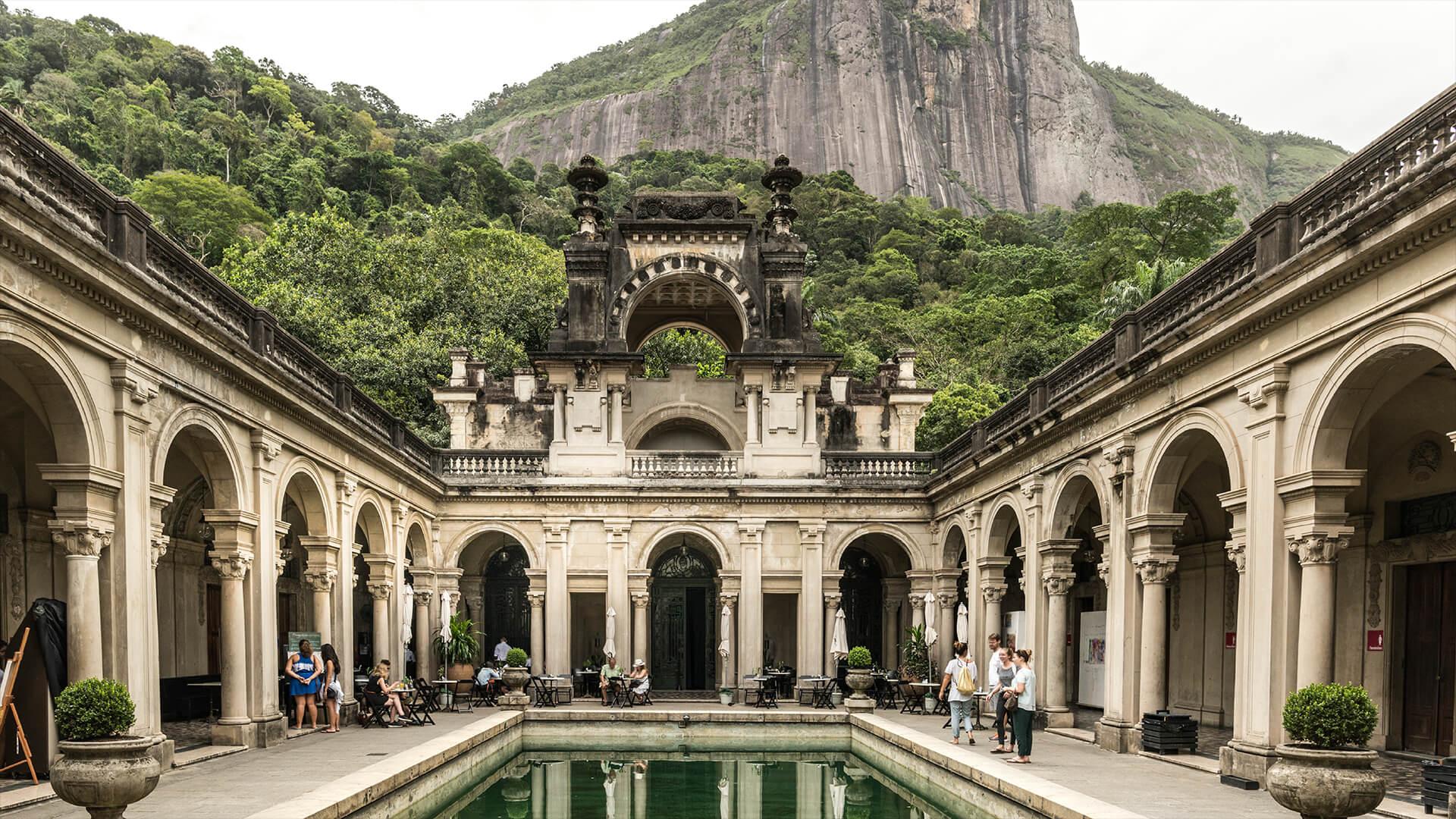 Historical Building, Rio de Janeiro